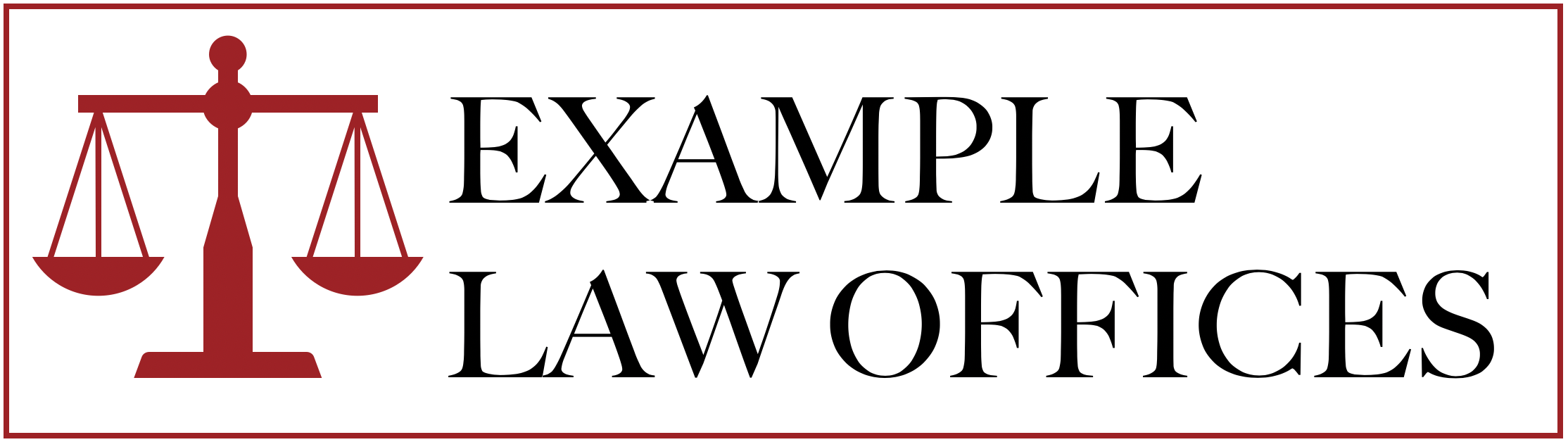 Example Law Offices Logo